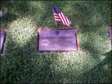 Chales F Swanson headstone, Bay Pines Cemetery