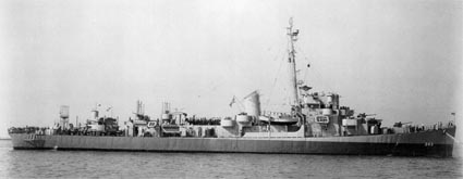 USS J RICHARD WARD (DE-243) c. 1943