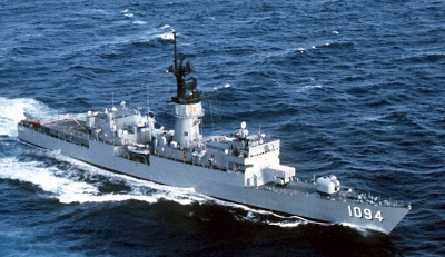 USS PHARRIS (FF-1094) on UNITAS XXI 1982