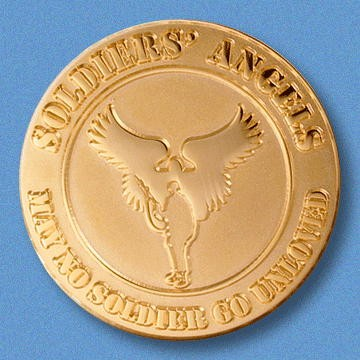 Soldier's Angels Challenge Coin