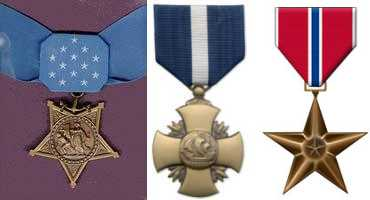 MOH, Navy Cross and Bronze Star