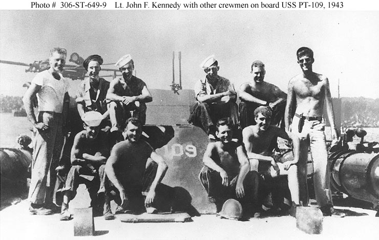 PT-109 Crew in WWII