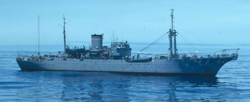 USNS ALBERT J MYERS (T-ARC 6)